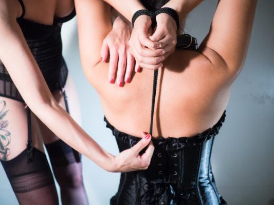 Sklaven und Sklavin bestrafen